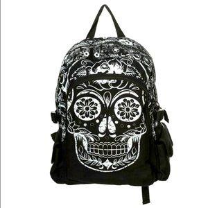 Lost Queen Collins Sugar Skull Stunning Backpack!